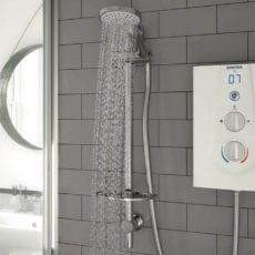 Bristan Prism Vertical Dual Control Shower